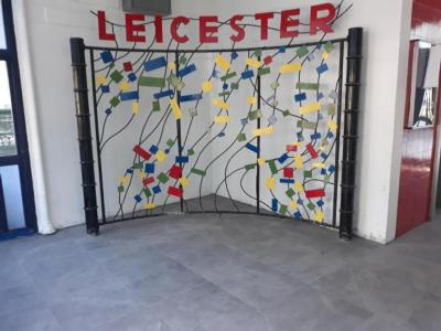Leicester new floor